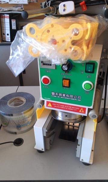 Taiwan Fully Cup Sealing Machine Sealing Machine-Cup Sealer  Johor Bahru JB Malaysia Supply, Supplier, Supplies | Xuan Huat Food Equipment Sdn Bhd