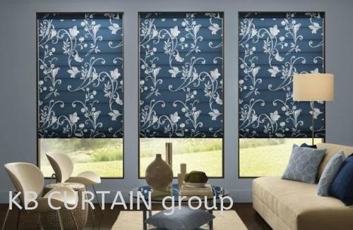 Roman Blinds Curtain Johor Bahru (JB), Malaysia, Singapore, Mount Austin, Skudai, Kulai Design, Supplier, Renovation   KB Curtain & Interior Decoration