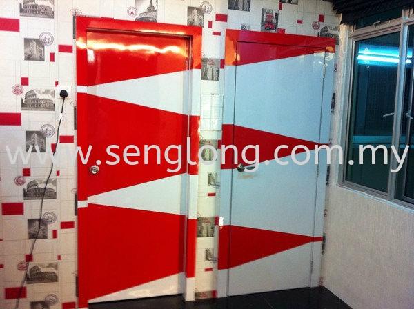 Door Door Chuan Yi Curtain and Design / Chuan Yi Interior Design Sdn Bhd Johor, JB, Ulu Tiram  | Seng Long Trading Sdn Bhd
