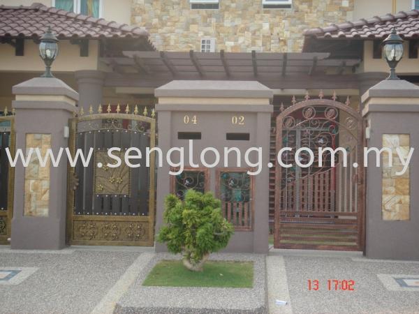 Fence Door Fence Door Yong Yek Trading / Yong Yek Engineering Sdn Bhd Johor, JB, Ulu Tiram    Seng Long Trading Sdn Bhd