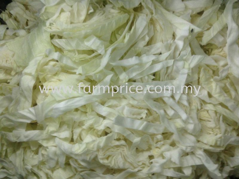 Cut Round Cabbage Cut and Processed Vegetables  Johor Bahru, JB, Malaysia Supply Supplier Suppliers | Farm Price Sdn. Bhd.
