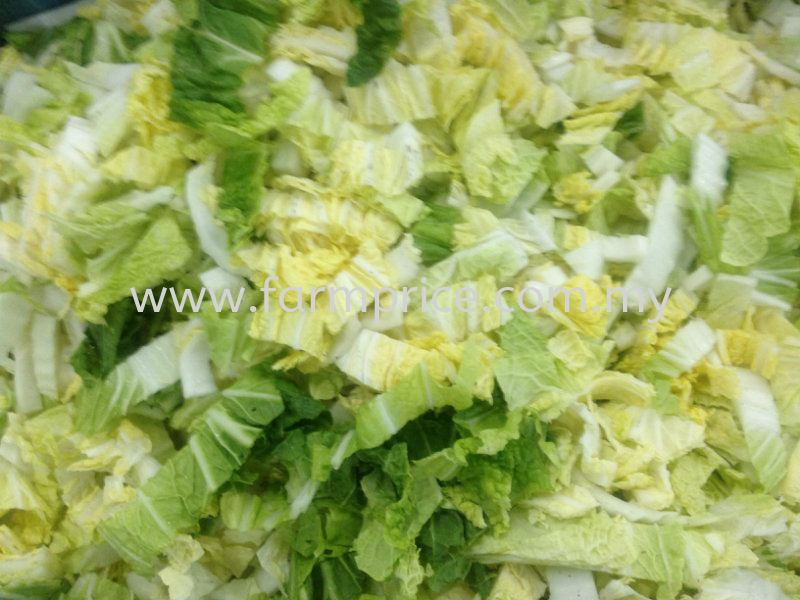 Cut Long Cabbage Cut and Processed Vegetables  Johor Bahru, JB, Malaysia Supply Supplier Suppliers | Farm Price Sdn. Bhd.
