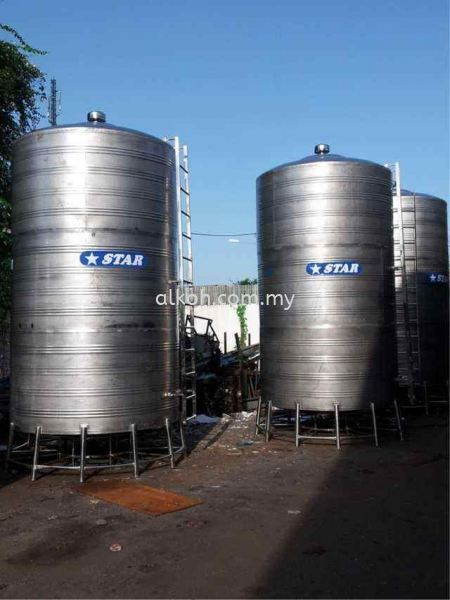 Industrial Filter Tank For 30 ton Star Stainless Steel Water Tank Tank and Bottles Johor Bahru (JB), Malaysia, Ulu Tiram Supply, Suppliers, Supplies | Alkoh Marketing Sdn Bhd