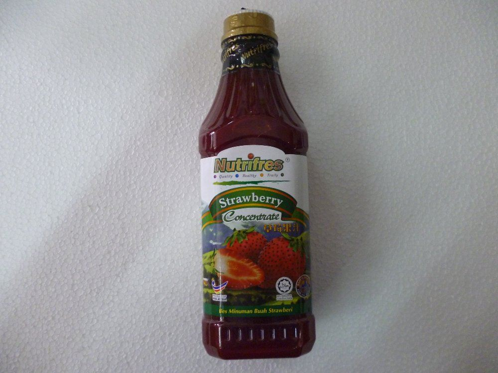 STRAWBERRY ( 1L ) NUTRIFRES BEVERAGES Johor Bahru, JB, Malaysia