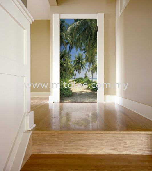 2-1313_Way_to_the_beach_Interieur_i Komar Photomural Vol:14 Wallpaper (0.53m x 10m) Johor Bahru JB Malaysia Kuala Lumpur KL Supplier, Supply | Mitalee Carpet & Furnishing Sdn Bhd
