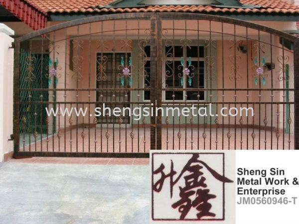 MG 005 Gate Metal Work Johor Bahru, JB, Skudai, 仟表 Design, Installation, Supply | Sheng Sin Metal Work & Enterprise