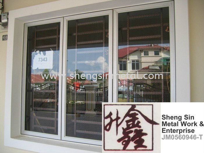 WW 006 Window Wrought Iron Johor Bahru, JB, Skudai, 仟表 Design, Installation, Supply | Sheng Sin Metal Work & Enterprise