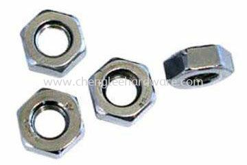 Mild Steel Hexagon Nuts BOLTS & NUTS AND OTHERS FASTERNERS Johor Bahru (JB), Setia Indah, Taman Ekoperniagaan Supply Supplier Suppliers | Cheng Lee Hardware Supply Sdn Bhd