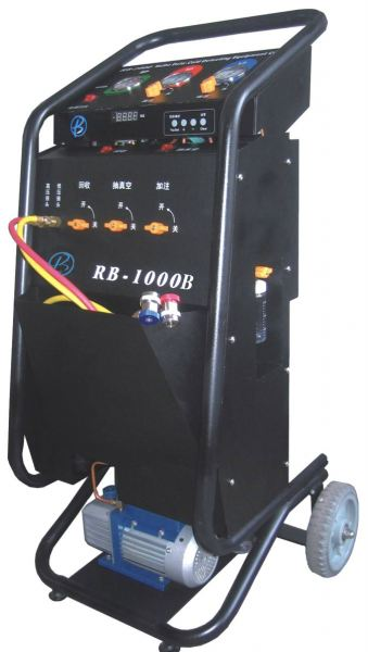 Car air-con recycling, recharging and vacuuming machine(Semi-auto) Car air-con machine Malaysia Johor Selangor KL Supply Supplier Suppliers   Acefield Automotive Equipment Tools Sdn Bhd