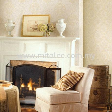复件 58132 GOLDEN VIENNA 2 Wallpaper-Velvet Johor Bahru (JB), Malaysia, Kuala Lumpur (KL), Selangor, Melaka Supplier, Supply | Mitalee Carpet & Furnishing Sdn Bhd