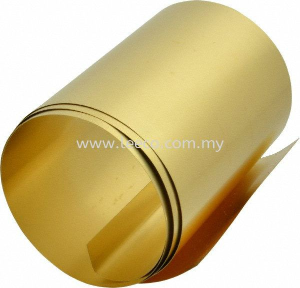 brass shim Brass Material Special Material JB Johor Bahru Malaysia Hardware Supply Suppliers | Leeco Industrial Supply