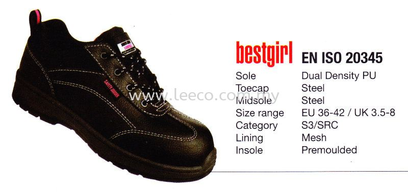 Safety Jogger Bestgirl Safety Jogger Safety Products(Personal Protection) JB Johor Bahru Malaysia Hardware Supply Suppliers | Leeco Industrial Supply