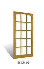 CM06 Wooden Door Malaysia Johor Bahru JB, Singapore Supplier, Installation | S & K Solid Wood Doors