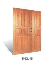 SKDL 45 Wooden Door Malaysia Johor Bahru JB, Singapore Supplier, Installation | S & K Solid Wood Doors