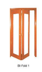 BI-Fold 1 Wooden Door Malaysia Johor Bahru JB, Singapore Supplier, Installation | S & K Solid Wood Doors