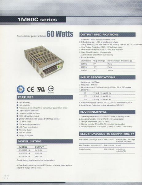 1M60C Series Electrical Products - Portrans Johor Bahru, JB, Malaysia Supply Supplier Suppliers | VC Industrial Products