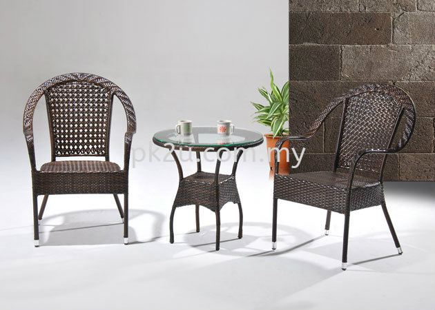 PK-T6007-TABLE  PK-C8063-CHAIR Out Door Set Cafe & Dining Furniture Johor Bahru, JB, Malaysia Manufacturer, Supplier, Supply | PK Furniture System Sdn Bhd