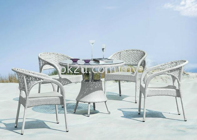 PK-B4121-1-TABLE  PK-A3122-CHAIR Out Door Set Cafe & Dining Furniture Johor Bahru, JB, Malaysia Manufacturer, Supplier, Supply   PK Furniture System Sdn Bhd