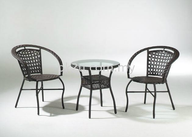 PK-T5023-TABLE  PK-C5023-CHAIR Out Door Set Cafe & Dining Furniture Johor Bahru, JB, Malaysia Manufacturer, Supplier, Supply   PK Furniture System Sdn Bhd