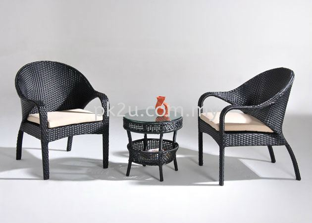 PK-YT0748-TABLE  PK-YC664-CHAIR Out Door Set Cafe & Dining Furniture Johor Bahru, JB, Malaysia Manufacturer, Supplier, Supply | PK Furniture System Sdn Bhd
