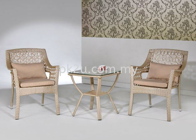 PK-B4135-TABLE  PK-A3141-CHAIR Out Door Set Cafe & Dining Furniture Johor Bahru, JB, Malaysia Manufacturer, Supplier, Supply   PK Furniture System Sdn Bhd