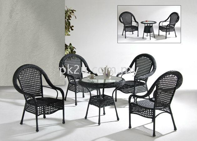 PK T-2039-TABLE PK C-2309-CHAIR Out Door Set Cafe & Dining Furniture Johor Bahru, JB, Malaysia Manufacturer, Supplier, Supply | PK Furniture System Sdn Bhd
