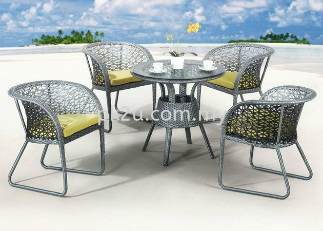 PK-T618-TABLE  PK-C618 Out Door Set Cafe & Dining Furniture Johor Bahru, JB, Malaysia Manufacturer, Supplier, Supply | PK Furniture System Sdn Bhd