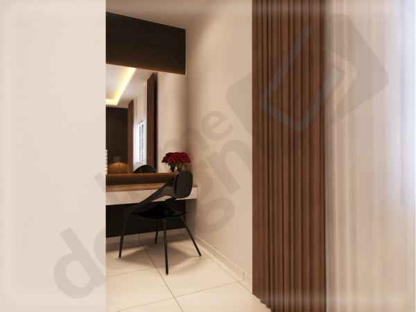 Dressing Table Bedroom 3D Design Johor Bahru (JB), Malaysia Design | LV Construction Design Sdn Bhd