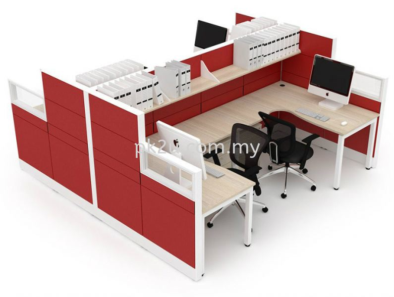 Cubicle Workstation - T Solution Modular Office System Office System Workstation Johor Bahru, JB, Malaysia Manufacturer, Supplier, Supply | PK Furniture System Sdn Bhd