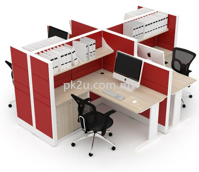 Cubicle Workstation - X Solution Modular Office System Office System Workstation Johor Bahru, JB, Malaysia Manufacturer, Supplier, Supply | PK Furniture System Sdn Bhd