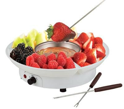 Fresco Electric Chocolate Fondue Family Set CF19A White Color Chocolate Fondue Kuala Lumpur, KL, Malaysia Supply, Supplier, Suppliers | Fresco Cocoa Supply PLT