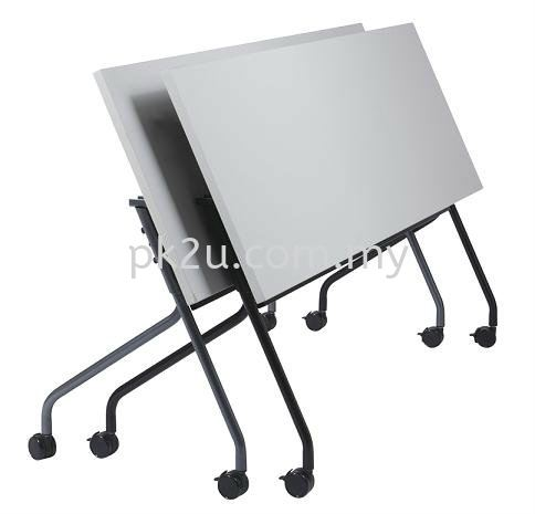 Flipper Training Table Foldable Training Table Study & Training Table Multi Purpose Tables Johor Bahru, JB, Malaysia Manufacturer, Supplier, Supply | PK Furniture System Sdn Bhd