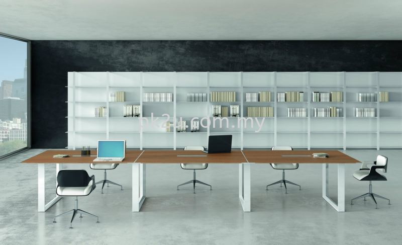 O-Series Meeting Table Meeting Table Conference & Discussion Desk Johor Bahru, JB, Malaysia Manufacturer, Supplier, Supply | PK Furniture System Sdn Bhd