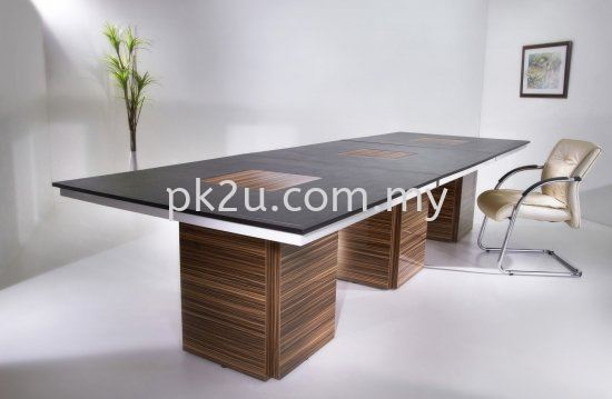 Wooden Meeting Table Meeting Table Conference & Discussion Desk Johor Bahru, JB, Malaysia Manufacturer, Supplier, Supply | PK Furniture System Sdn Bhd