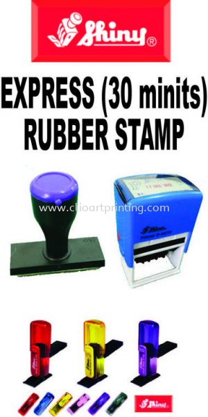 Self-Inking, Normal Rubber Stamp Johor Bahru JB Malaysia Printing Services, Prints | ClioArt Printing & Design