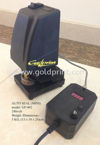 Mini Electric auto seal press Embossing Common Seal Singapore Supply Suppliers   Goldprint Enterprise Pte Ltd
