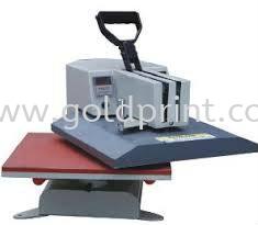 Korea T-shirt Heat press (Swinger type) equipments UV Printer / T-Shirt Flatbed Printer Singapore Supply Suppliers | Goldprint Enterprise Pte Ltd