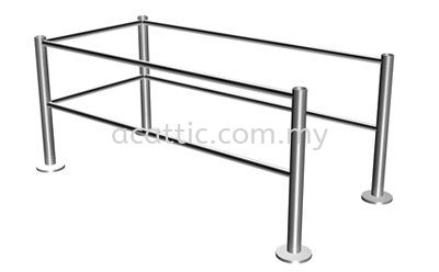 SR-FL Stainless Steel Safety Rail Fakro Ladder FAKRO Johor Bahru, JB, Malaysia. Supplies, Suppliers, Supplier | Ac Attic Construction And Trading