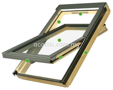 Centre Pivot Roof Windows Johor Bahru, JB, Malaysia. Supplies, Suppliers, Supplier | Ac Attic Construction And Trading
