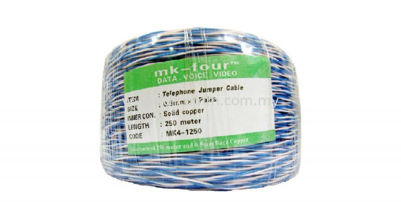 TELEPHONE JUMPER CABLE Telephone cable , Accessory Cable Johor Bahru JB Malaysia Supply, Suppliers, Sales, Services, Installation   TH COMMUNICATIONS SDN.BHD.
