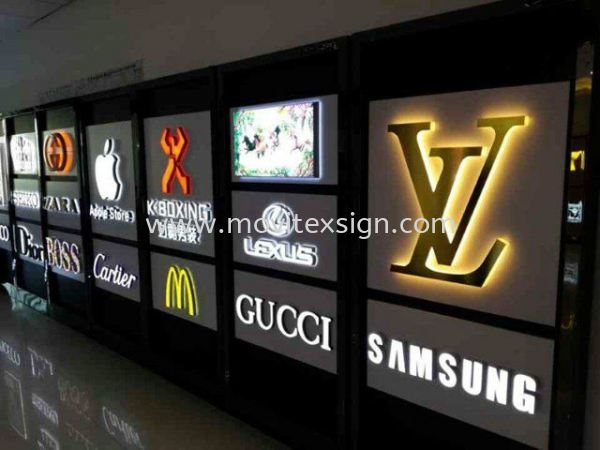all kinds of led lighting effect for day n nite changeable 4color  3D Lettering with LED Light Johor Bahru (JB), Johor, Malaysia. Design, Supplier, Manufacturers, Suppliers | M-Movitexsign Advertising Art & Print Sdn Bhd