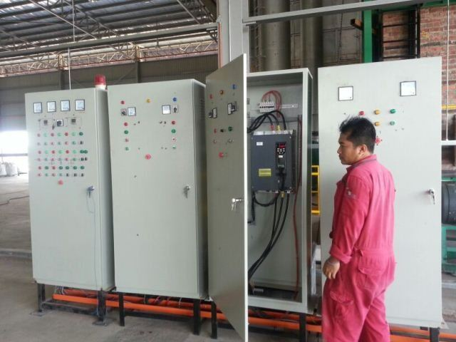 BLOWER FAN CONTROL PANEL PROJECTS WITH MOGEN MORRIS INVERTER