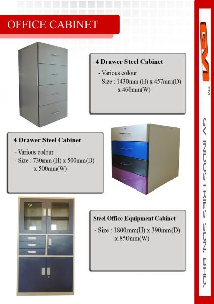 Office Cabinet Series Brochure Other Products Malaysia, Selangor, Kuala Lumpur (KL), Johor Bahru (JB), Penang, Sabah, Sarawak Manufacturer, Supplier, Supplies, Provider | GV Industries Sdn Bhd