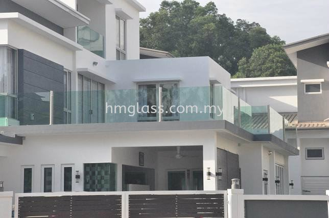 Balcony and Skylight Ampang, Selangor, Malaysia. Suppliers, Installation, Supplier, Supply | H M Glass Sdn Bhd