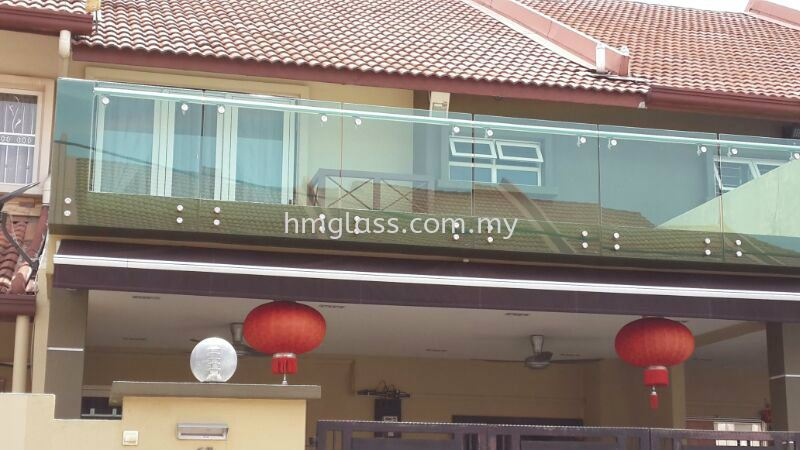 Balcony and Skylight Ampang, Selangor, Malaysia. Suppliers, Installation, Supplier, Supply   H M Glass Sdn Bhd