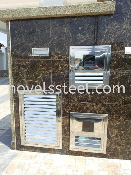 Stainless Steel Ammeter Door 004 Stainless Steel Ammeter Door  Johor Bahru(JB), Malaysia. Manufacturer, Design, Supplies, Supplier   Novel Excellence Sdn Bhd
