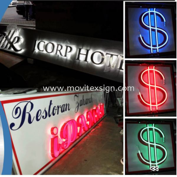 All kind of LED syntactic strip product with waterproof system to be use for outdoor signboard LED Signage LED Signage and Neon Signboard Johor Bahru (JB), Johor, Malaysia. Design, Supplier, Manufacturers, Suppliers | M-Movitexsign Advertising Art & Print Sdn Bhd
