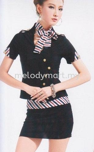 Stewardess S01 Black (1222 0202)
