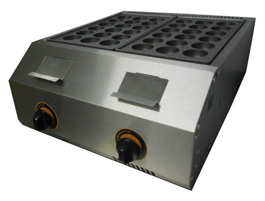 Takoyaki Machine Gas 2 plate, FR-1136.R 18 hole, Big hole (45mm) size Takoyaki Machine Kuala Lumpur, KL, Malaysia Supply, Supplier, Suppliers | Fresco Cocoa Supply PLT