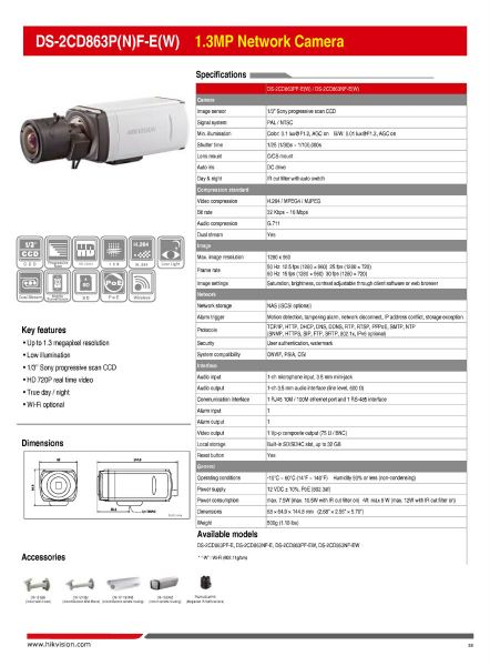 DS-2CD863P(N)F-E(W) 1.3MP Network Camera 039 Network Camera HikVision CCTV SYSTEM Kajang, Selangor, Kuala Lumpur (KL), Malaysia. Supplier, Supply, Supplies, Installation | WYA AUTOMATION SYSTEM